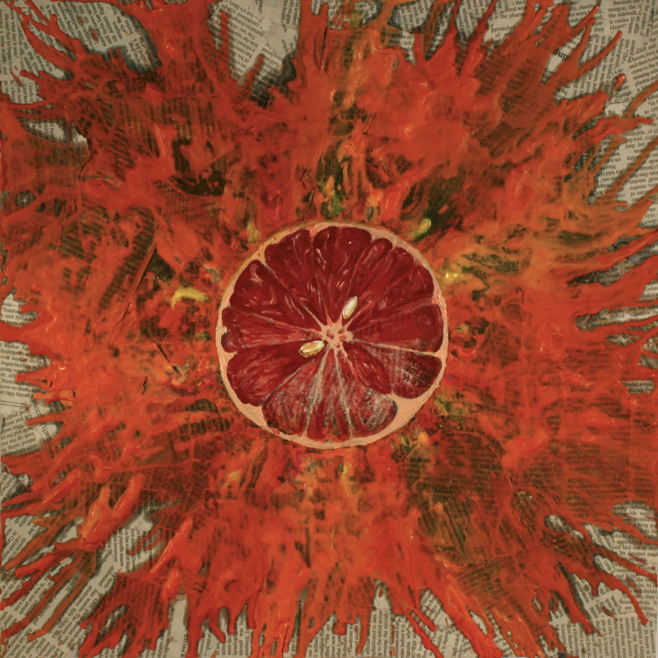 Exploding Grapefruit