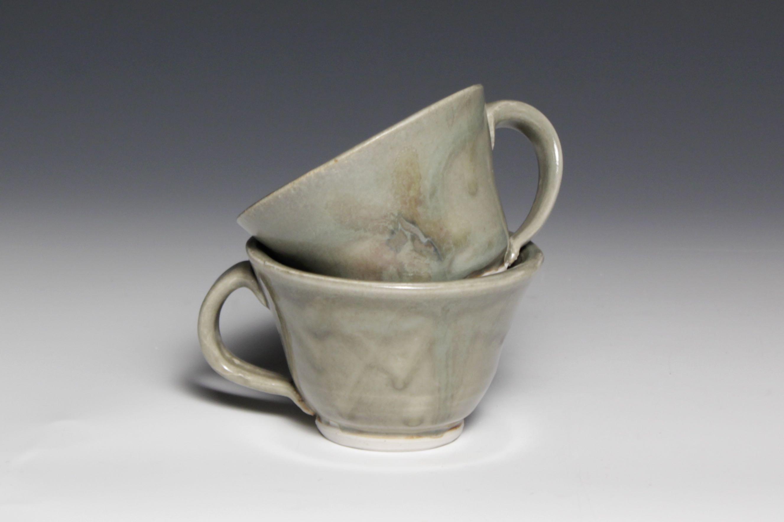 Green Teacups