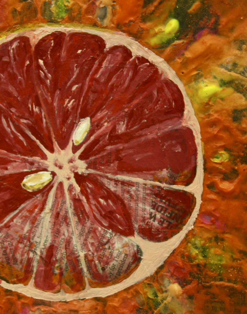 Exploding Grapefruit (detail)