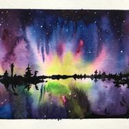 midnight aurora