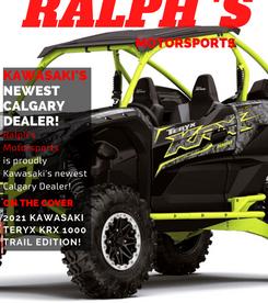 Ralph's Motorsports Magazine Cover