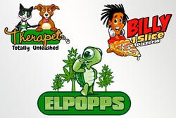 Cartoon Mascot Logo
