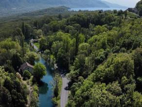 Chanaz entre Rhône et lacs