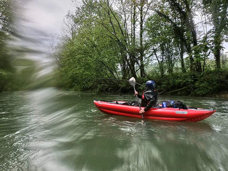 Sortie Kayac sur le Seran