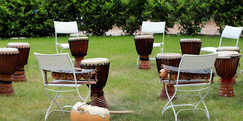 Formation musique créative et cercles de tambours
