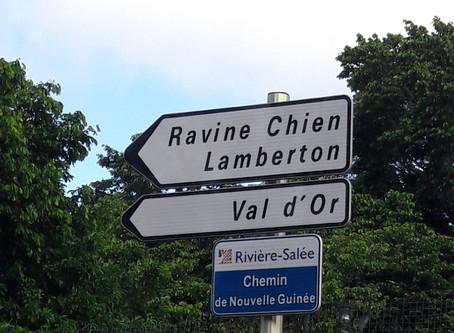Un petit clin d'oeil de la Martinique...