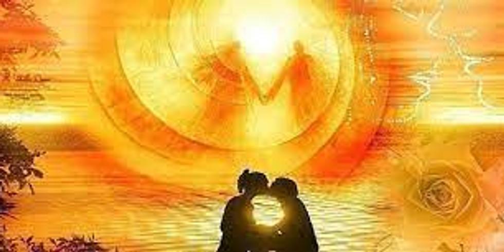 le couple divin solaire - les initiations des cobras blanc, émeraude et or