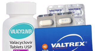 Herpes Happens medications Valtrex and Valcyclovir