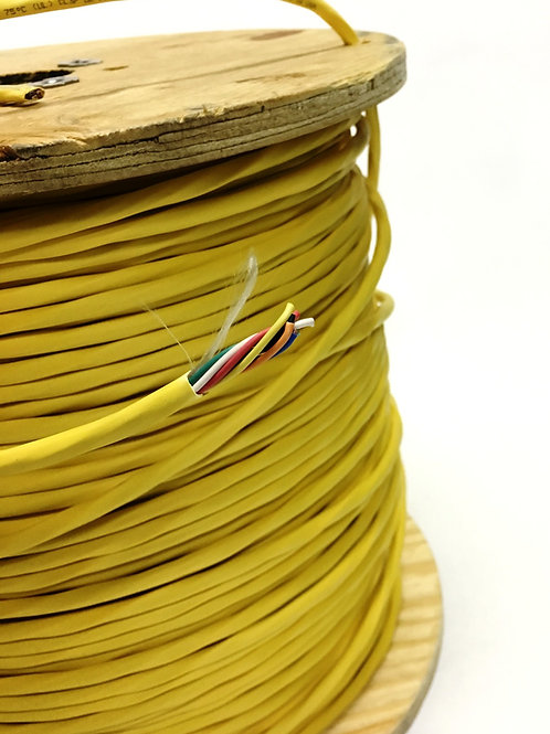 18 AWG 8 CONDUCTOR PLENUM LOW VOLTAGE MULTI-CONDUCTOR WIRE