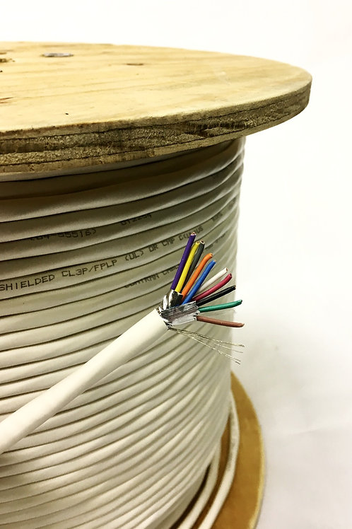 18 AWG 10 CONDUCTOR SHIELDED PLENUM LOW VOLTAGE MULTI-CONDUCTOR PLENUM