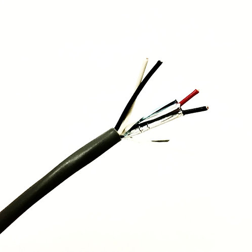 22 AWG 2 PAIR ONE PAIR SHIELDED PVC WIRE