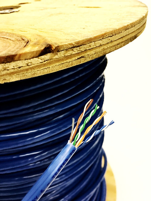 CAT 6 RISER 23 AWG 4 PAIR - LOW VOLTAGE VOICE & DATA CABLE