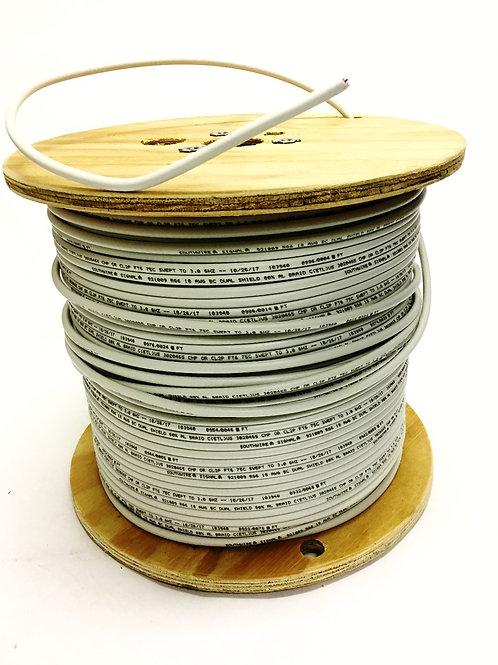 CATV RG 6 PLENUM COAXIAL CABLE