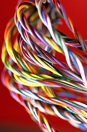 Twisting; dyeing; striping; wire & cable; low voltage