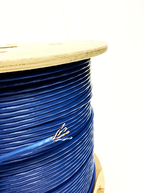 CAT 6A PLENUM BLUE VOICE & DATA CABLE