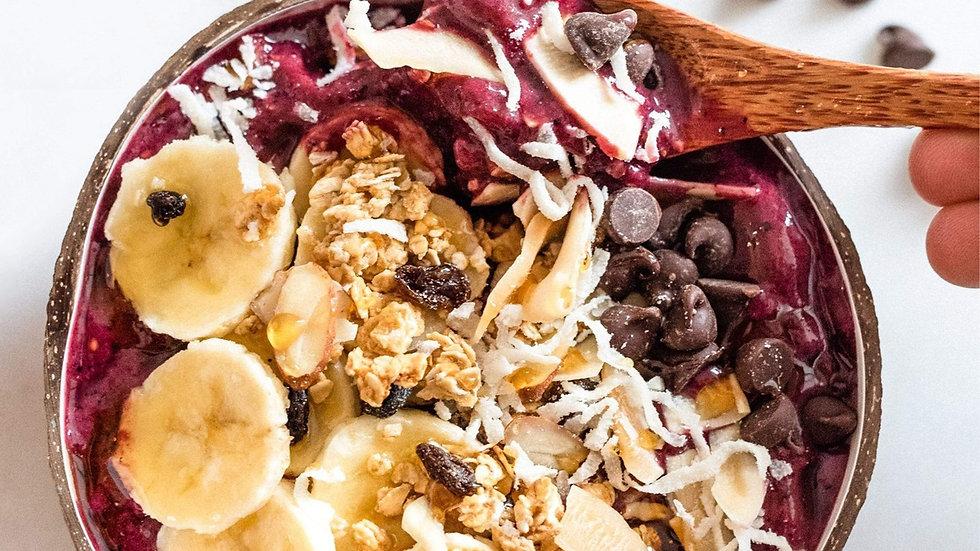 Vegane Bio-Buddha-Schale für Salat & Smoothie