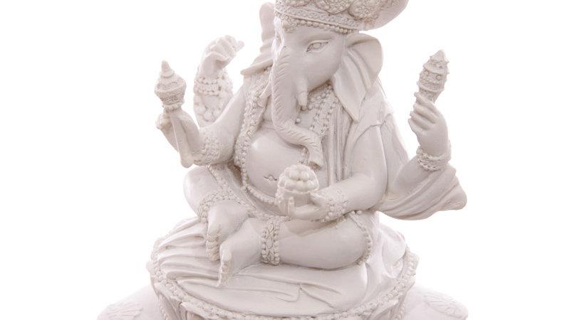 Ganesha Figur weiss