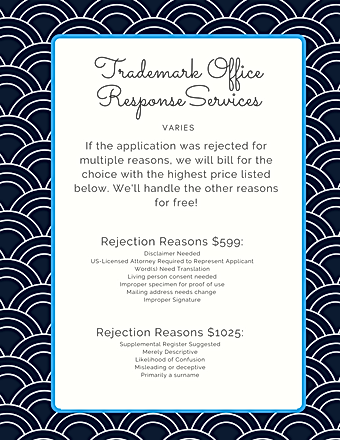 Lawyer Trademark Office Action Respone