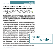 Paper published in Nature Electronics