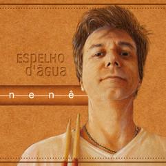 """Ilustração e colagem para capa e encarte do álbum """"Espelho d'água"""", do músico e compositor Nenê Flores."""