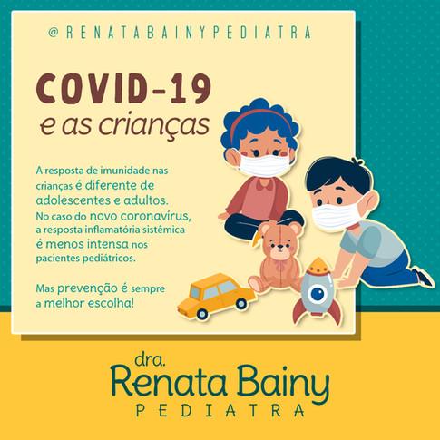 Arte para perfil de pediatria