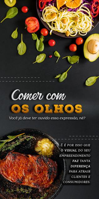 Panfleto (flyer) para restaurantes