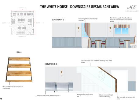 Downstairs Restaurant Area
