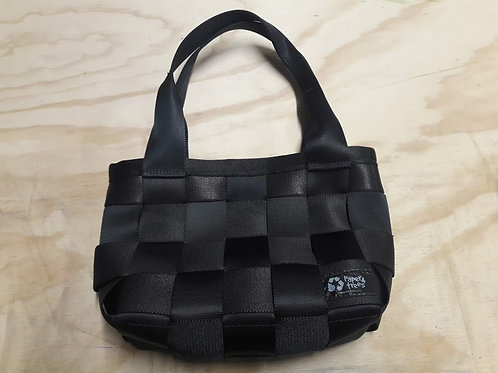 Small seatbelt handbag