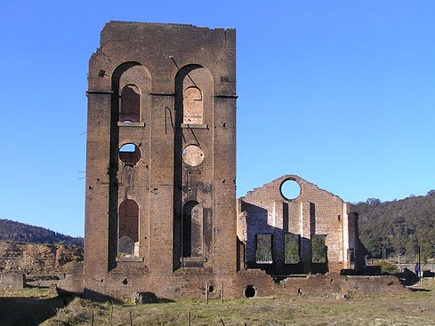 Lithgow Blast Furnace - Built in 1906-7,
