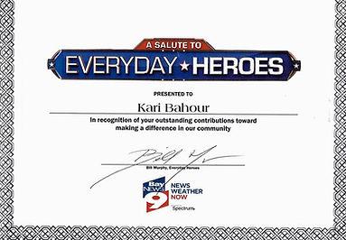 every day hero certificate bay news 9.jp