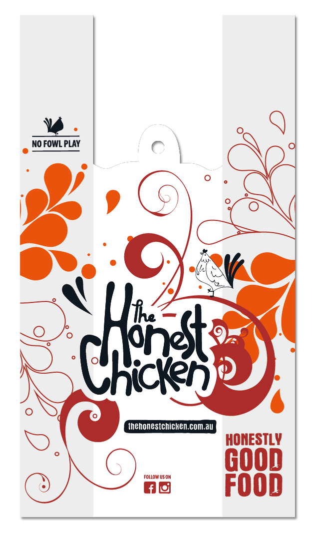 The Honest Chicken - Bag Design