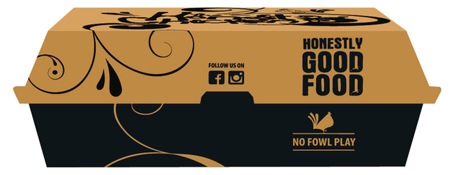 The Honest Chicken - Snack Box Packaging