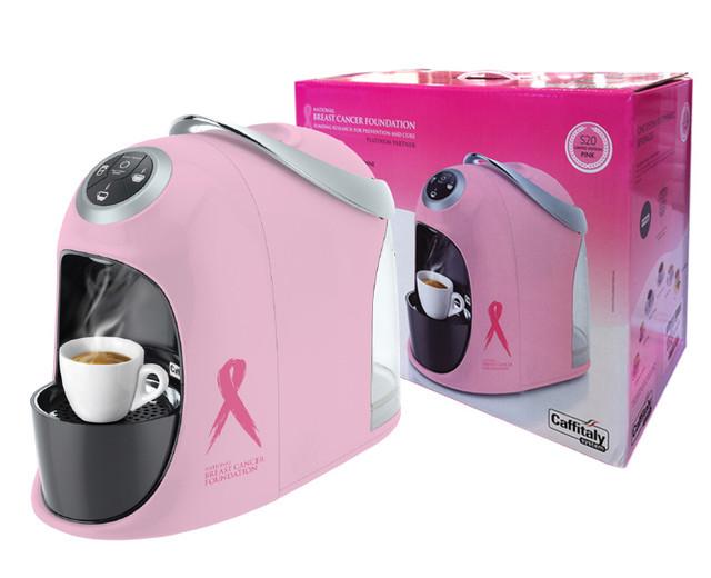 Caffitaly - Pink Ribbon NBCF S20Pink Box