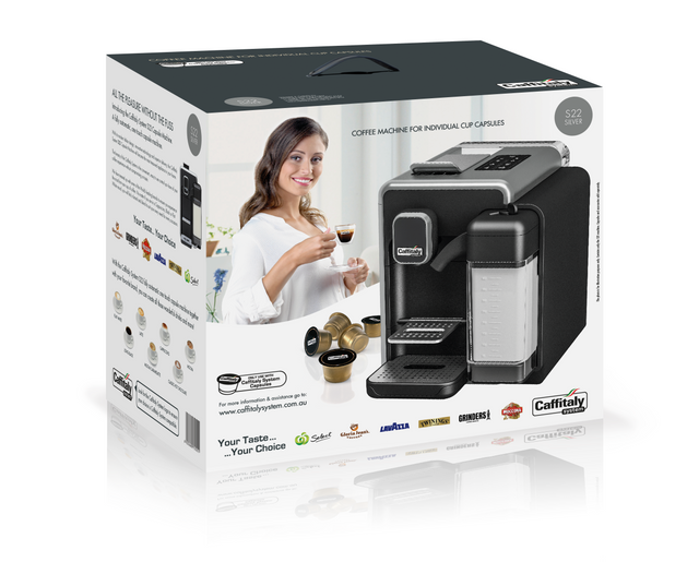 Caffitaly - S22 Machine Retail Box
