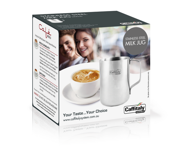 Caffitaly - Milk Jug Retail Box