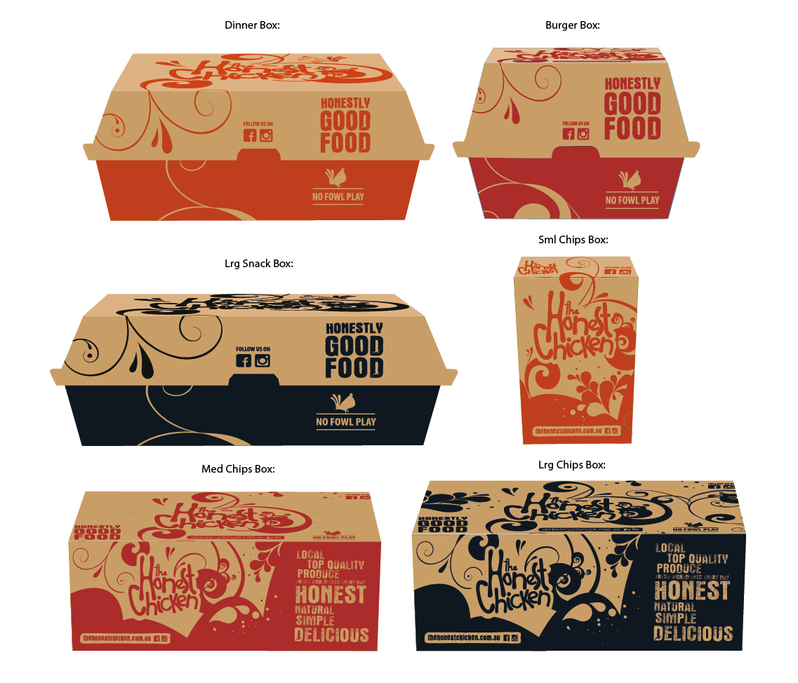 The Honest Chicken - NEW Packaging