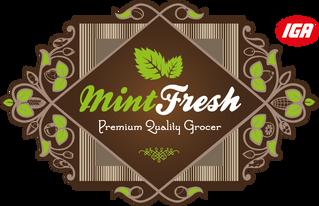 Mint Fresh IGA Logo
