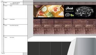 Mint Fresh - Interior Design Above Deli