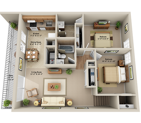x2 BEDROOM 2 BATHROOM SECOND FLOOR.png