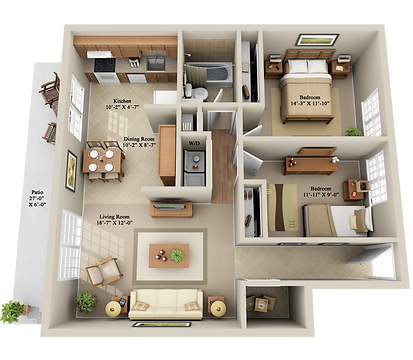 x2 BEDROOM 1 BATHROOM GROUND FLOOR.png