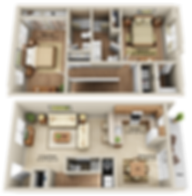 xTOWNHOME 2 BEDROOM 2-5 BATHROOM - New L