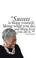 Love it! Maya Angelou is the best!