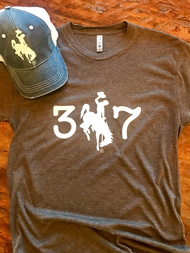 307 T-Shirt (Mocha and White)
