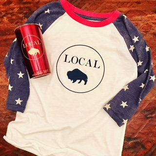 Circle Local Baseball T-Shirt