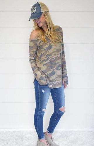 Long Sleeve Camo T-Shirt