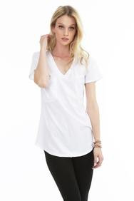 Bobi Pocket Tee (White/Charcoal/Fatigue)