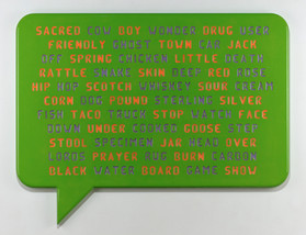 Chatterbox/green, 2010
