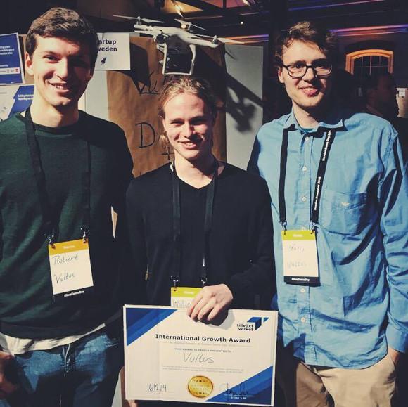 Inkubatorbolaget Vultus tar hem 50 000 kr på Sweden Demo Day!