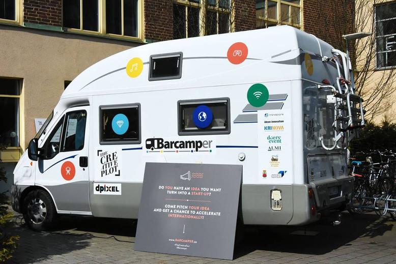 Barcamper öppnar dörrar för storslagna idéer