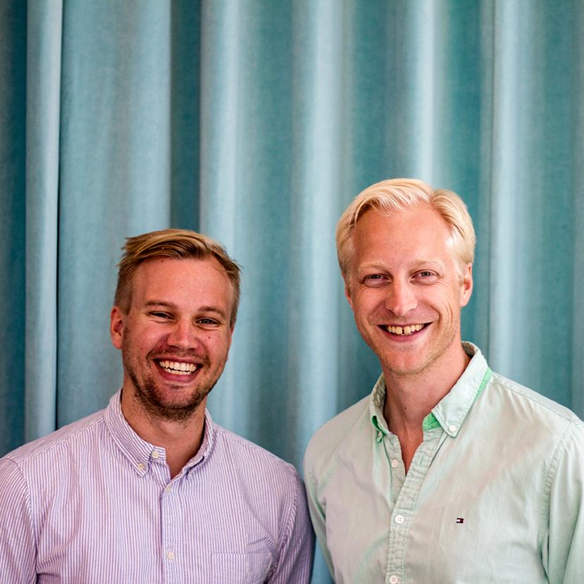 Eric Andersson och Christian Ramel på Memlin.